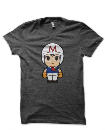 Speed Racer Charcoal Grey T-Shirt