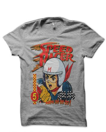 Speed Racer Grey T-Shirt