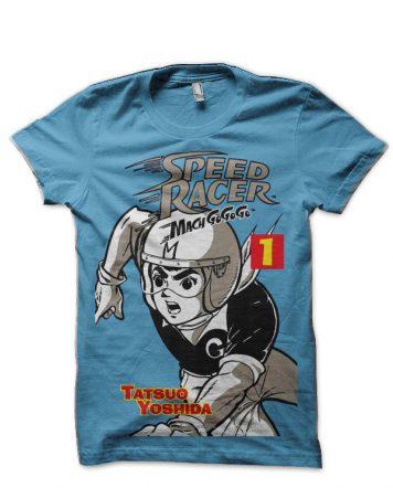 Speed Racer Light Blue T-Shirt