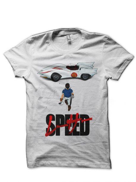 Speed Racer White T-Shirt