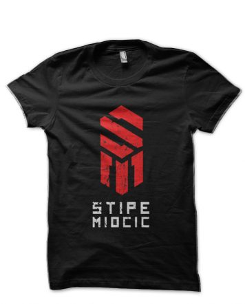 Stipe Miocic Black T-Shirt