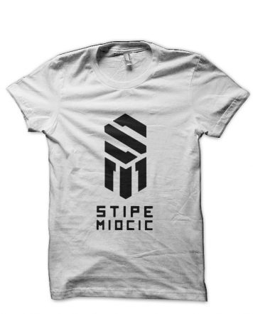 Stipe Miocic White T-Shirt