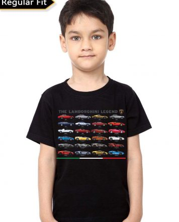 The Lamborghini Legend Black T-Shirt