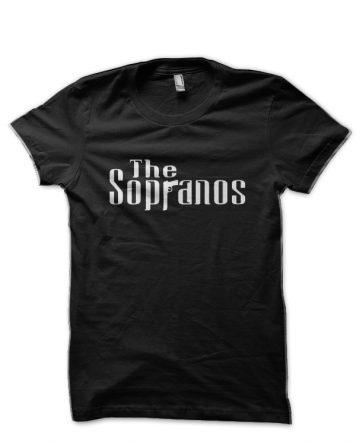 The Sopranos Black T-Shirt