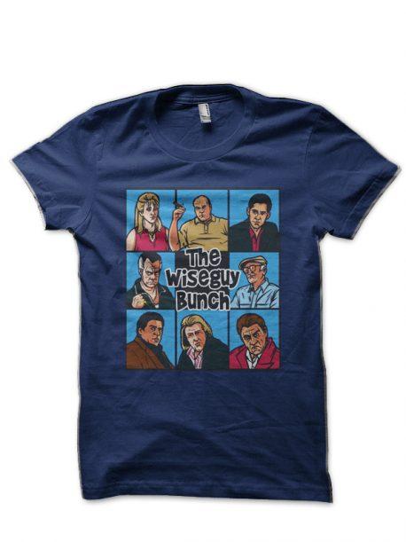 The Sopranos Navy Blue T-Shirt