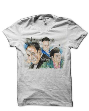 The Sopranos White T-Shirt