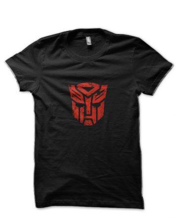 Transformers Autobots Black T-Shirt