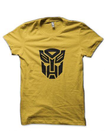 Transformers Autobots Yellow T-Shirt