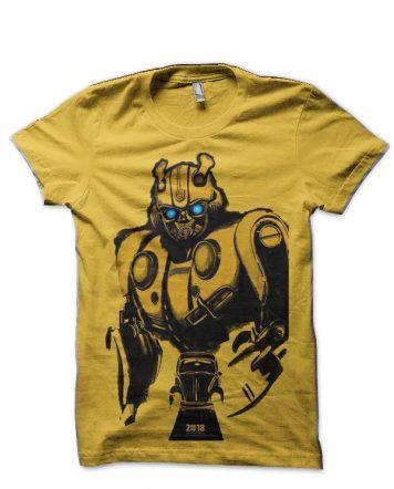 Transformers Bumblebee Black T-Shirt