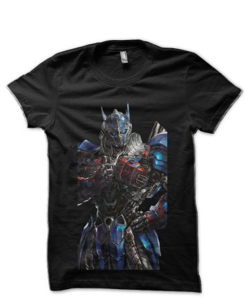 Transformers Optimus Prime Black T-Shirt