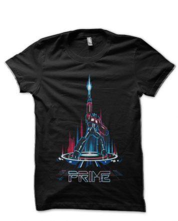 Transformers Prime Black T-Shirt