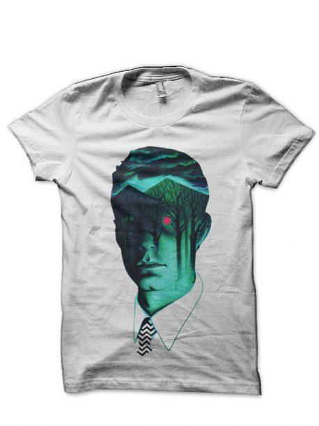 Twin Peaks White T-Shirt