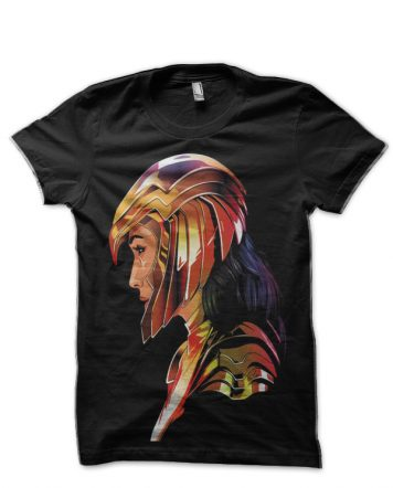 Wonder Women Black T-Shirt