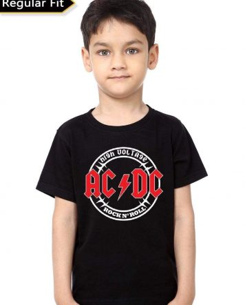 AC/DC Band Kids T-Shirt