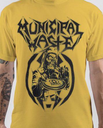 Flying Saucer Municipal Waste Band T-Shirt