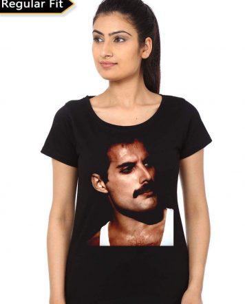 Freddie Mercury Black T-Shirt