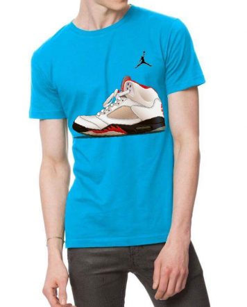 Nike Jumpman Light Blue T-Shirt