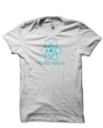 React Native White T-Shirt