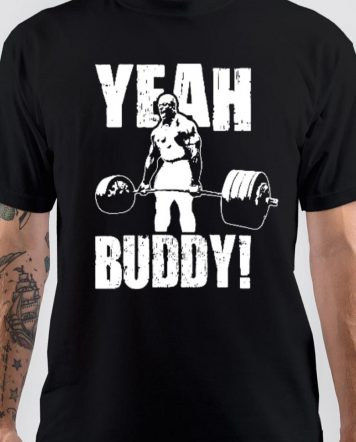 Ronnie Coleman Yeah Buddy Black T-Shirt