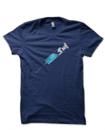 SQL Injection Navy Blue T-Shirt