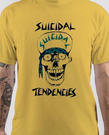 Suicidal Tendencies Band Skull T-Shirt