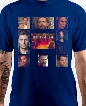 Supernatural Royal Blue T-Shirt