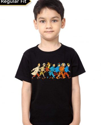 The Adventure Of Tintin Kids T-Shirt