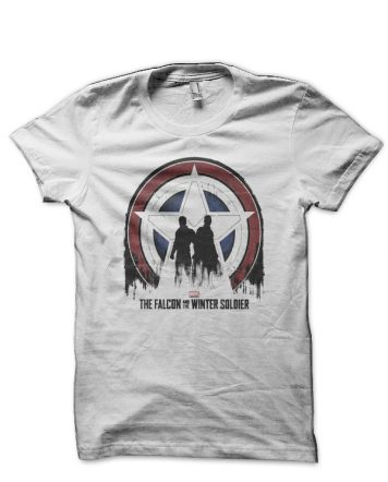 The Falcon And The Winter Soldier White T-Shirt