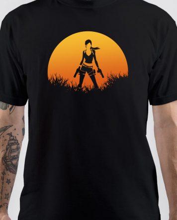 Tomb Raider Lara Croft Shadow T-Shirt