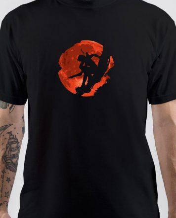 Tomb Raider Shadow Cartoon T-Shirt