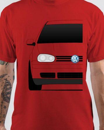 Volkswagen Red T-Shirt