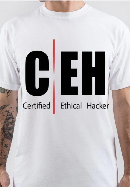 Certified Ethical Hacker Logo T-Shirt