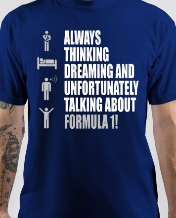 Formula 1 Navy Blue T-Shirt