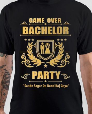 Game Over bachelor Party T-Shirt