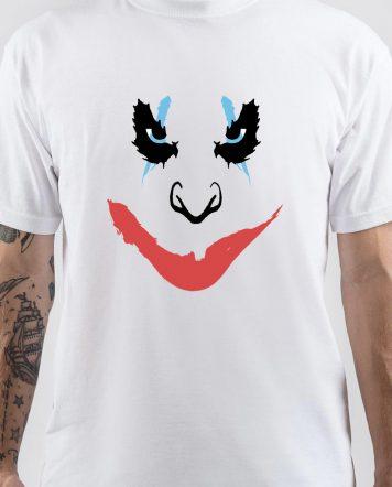 Joker White T-Shirt