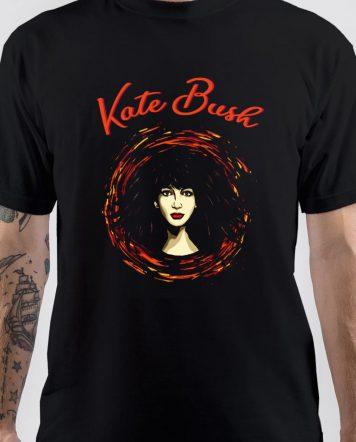 Kate Bush Cartoon Art T-Shirt