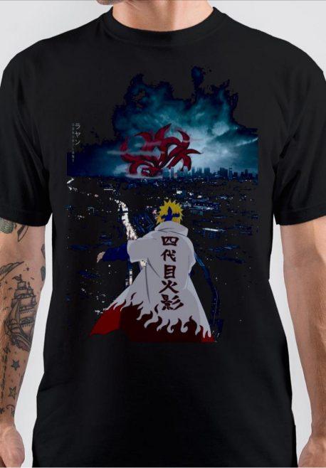 Minato Kurama Naruto T-Shirt