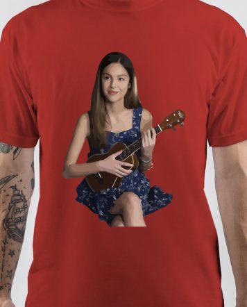 Olivia Rodrigo Art T-Shirt