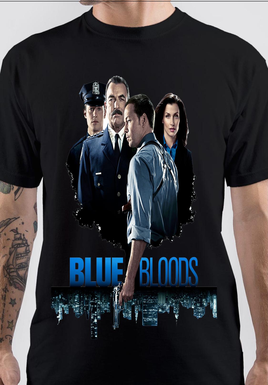 Blue Bloods T-Shirt And Merchandise