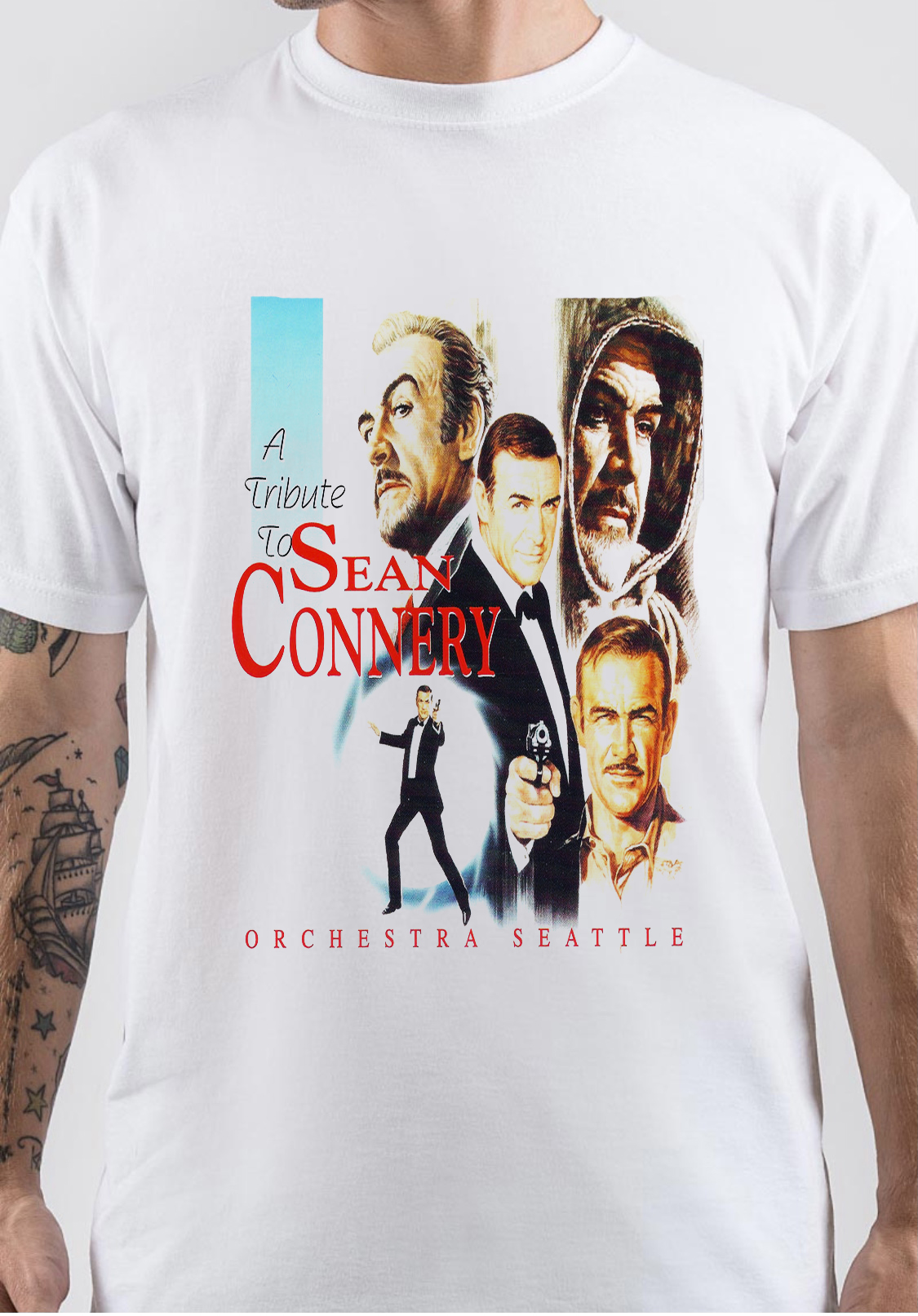 Sean Connery T-Shirt And Merchandise