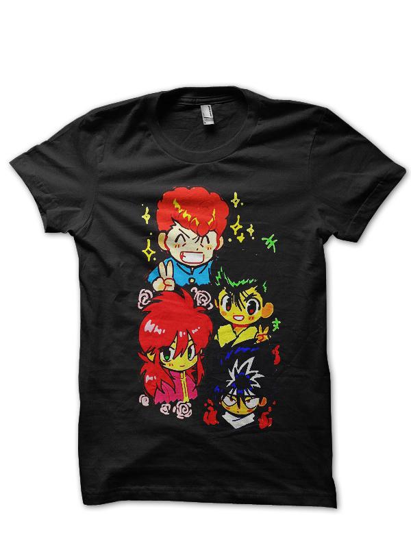 YuYu Hakusho T-Shirt And Merchandise