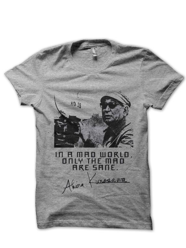 Akira Kurosawa T-Shirt And Merchandise