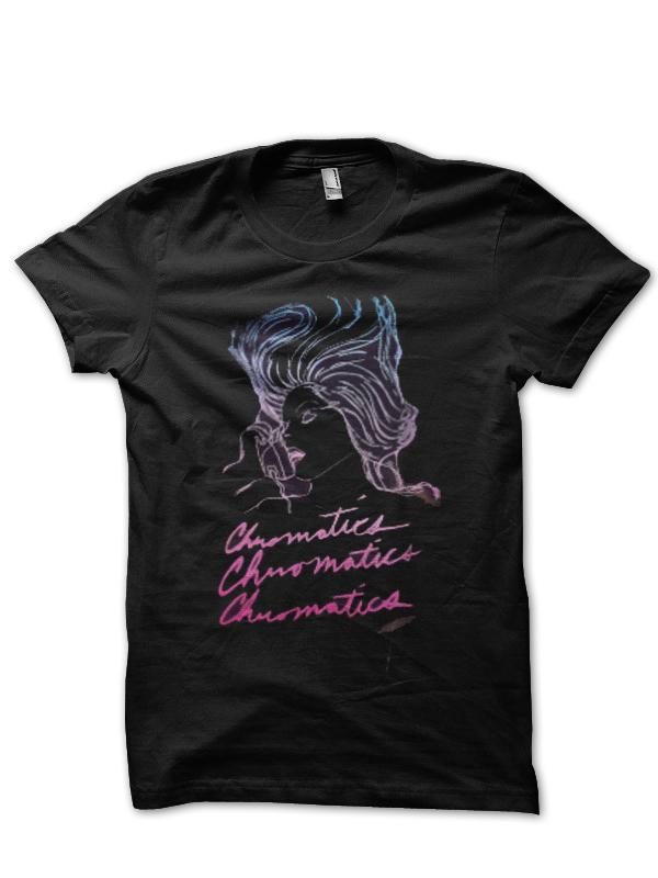 Chromatics T-Shirt And Merchandise
