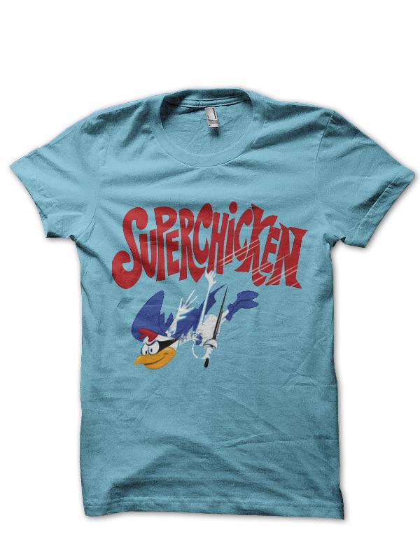 Super Chicken T-Shirt And Merchandise